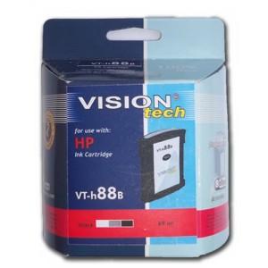 HP 88B XL, black 69ml, Vision Tech kompatibilné