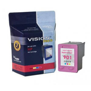 HP 901XL, color 21ml, Vision Tech kompatibilné