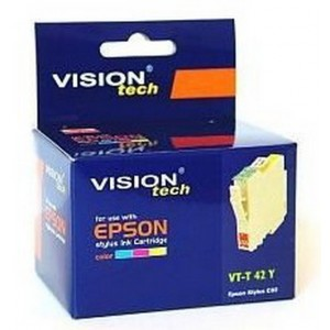 Epson T042-4 yellow 16ml, Vision kompatibil