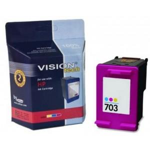 HP 703, color 15ml, Vision Tech kompatibilné