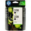 Duo pack HP 338, black CB331EE