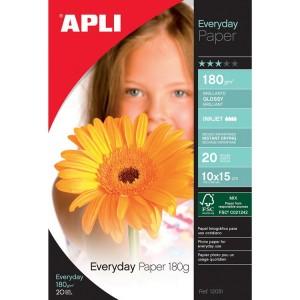 Papier APLI 12081 Glossy Everyday A6 180 g/m2, 20 ks