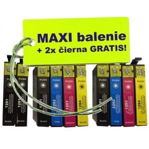 Kazety Epson T128 8ks maxi set + 2 zadarmo