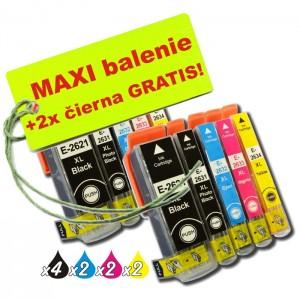 Kazety Epson T263 26XL 8ks maxi set + 2 zadarmo