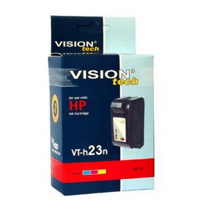 HP 23, color 48ml, Vision Tech kompatibilné