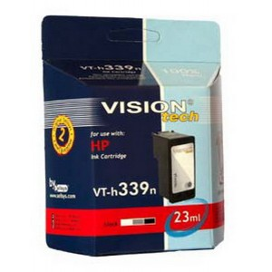 HP 339, black 28ml, Vision Tech kompatibilné