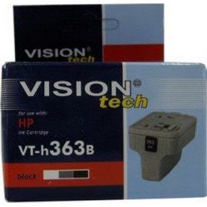 HP 363B, black 10ml, Vision Tech kompatibilné