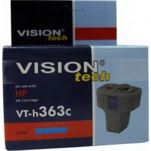 HP 363C, cyan 6ml, Vision Tech kompatibilné