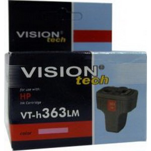 HP 363LM, light magenta 6ml,  Vision Tech kompatibilné