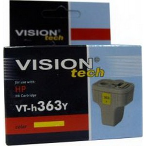 HP 363Y, yellow 6ml, Vision Tech kompatibilné