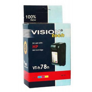 HP 78, color 36ml, Vision Tech kompatibilné