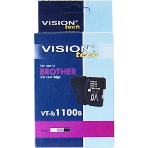 Brother LC-1100Bk black 18ml, Vision Tech