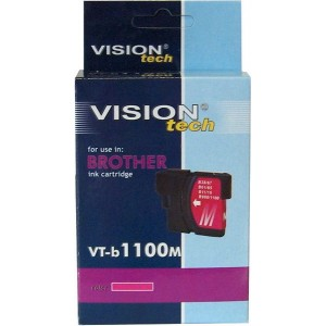 Brother LC-1100M magenta 13ml, Vision Tech