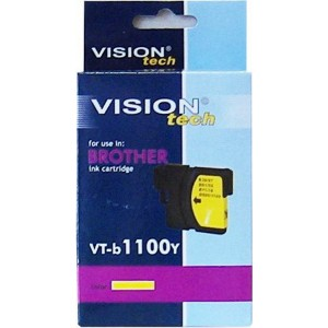 Brother LC-1100Y yellow 13ml, Vision Tech
