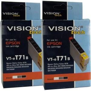 Epson T071-1, 2ks kompatibilná sada