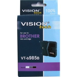 Brother LC-985Bk black 20ml, Vision Tech