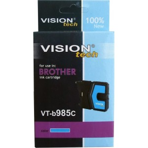 Brother LC-985C cyan 13ml, Vision Tech