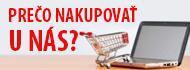 Prečo nakupovať u nás?