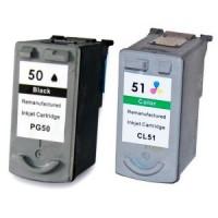Kompatibilná sada Canon PG-50, CL-51 za fantastickú cenu