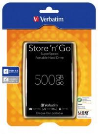 Externý HDD Verbatim 500GB, USB 3.0 môže byť aj tvoj