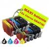 HP 364XL MAXI sada 8ks + 2 ks GRATIS
